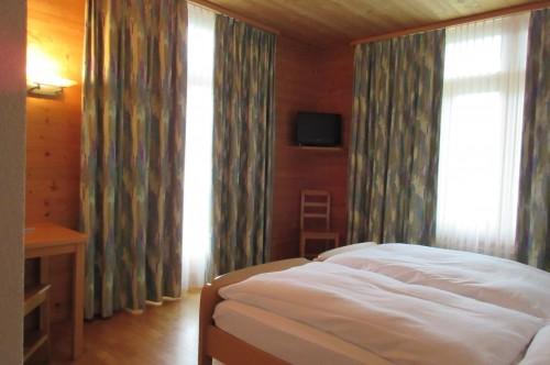 Dreibettzimmer Hotel Alpenrose